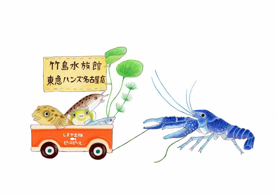 竹島水族館と東急ハンズ名古屋のコラボ商品