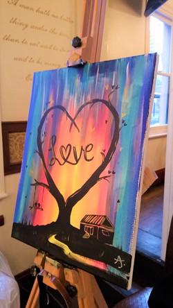 Hen party Love Tree
