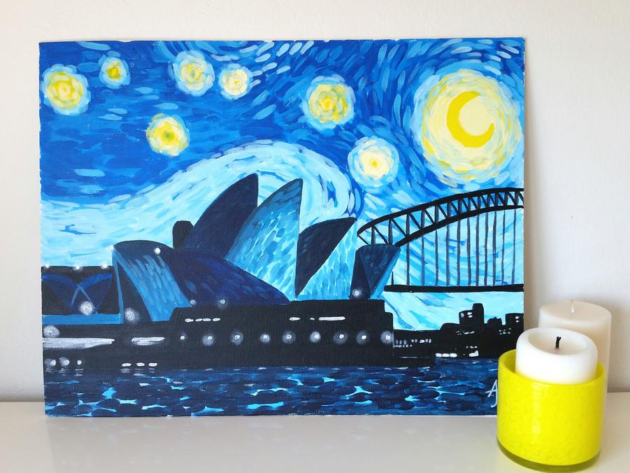 Sydney Starry Night