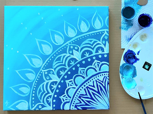 Mandala Calm - DIY Painting Kit
