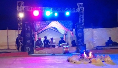 Rajasthani traditional cultural show