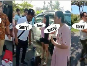 Indian tourists caught by staffs in Bali hotel as they tried to steal 'accesories'~FlyingPepper