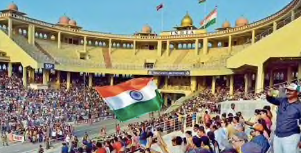 Attari-Wagah border ceremony