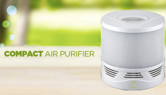 Compact air purifier