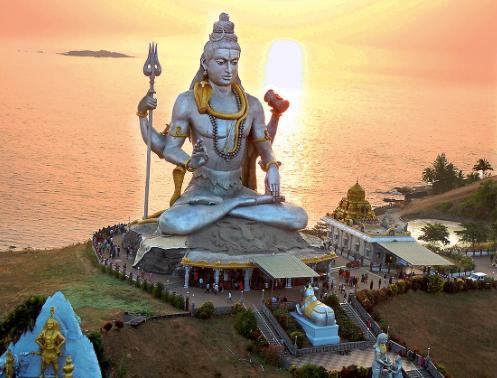 Majestic Lord Shiva Statue in Murudeshwar