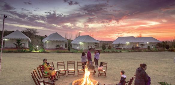 Desert Camp, Pushkar