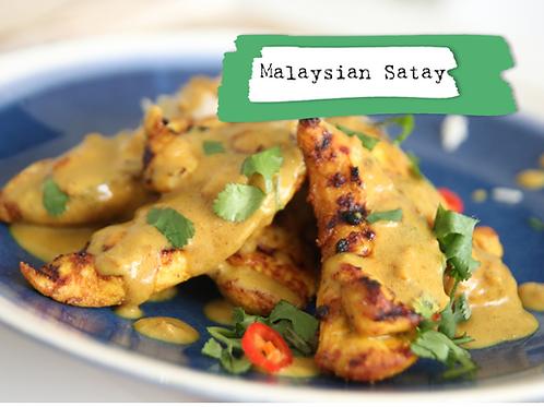 Shot - Malaysian Satay