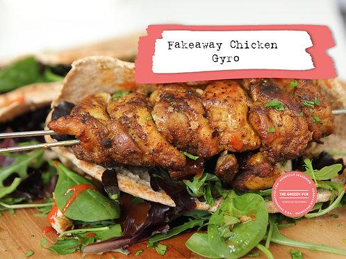 Shot -Fakeaway Chicken Gyro (Kebab(