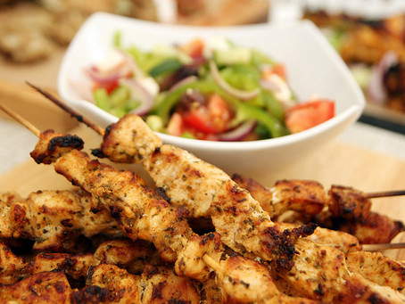 Chicken Souvlaki by The Greedy Fox