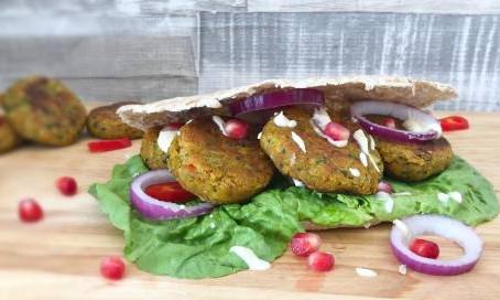 Moroccan Falafel by The Greedy Fox
