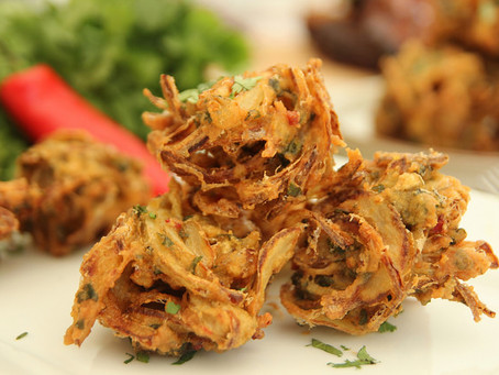 Onion Bhaji by The Greedy Fox