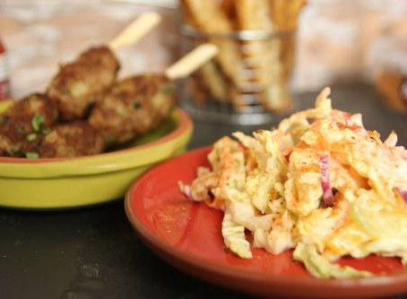 Low Fat House BBQ Coleslaw by The Greedy