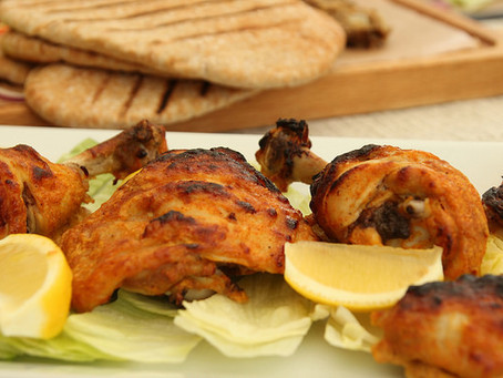 Tandoori Chicken by The Greedy Fox