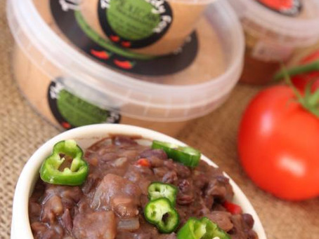 Mexican Refried Beans by The Greedy Fox