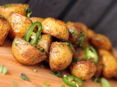 Goan Spicy Potatoes by The Greedy Fox