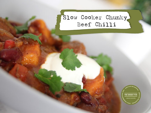 Shot - Slow Cooker Chunky Beef Chilli