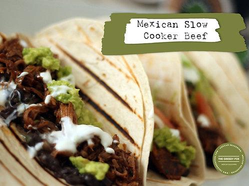 Shot - Slow Cooker Barbacoa Beef
