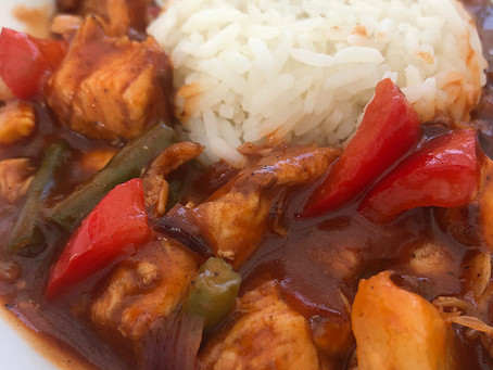 Easy Sweet and Sour Chicken by The Greedy Fox