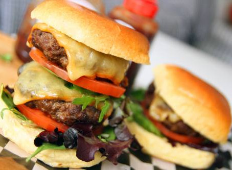Steak Burger by the Greedy Fox