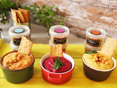 Low Fat Hummus by The Greedy Fox