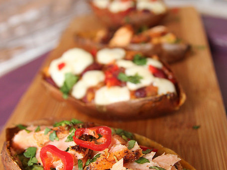 Loaded Potato Skins by The Greedy Fox
