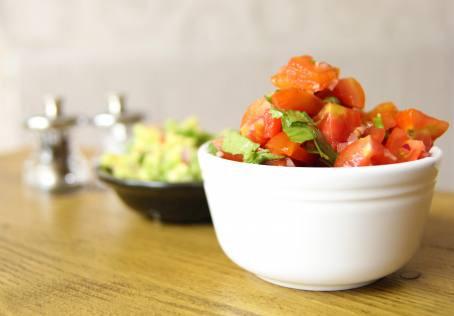 Chunky Tomato Salsa by The Greedy Fox