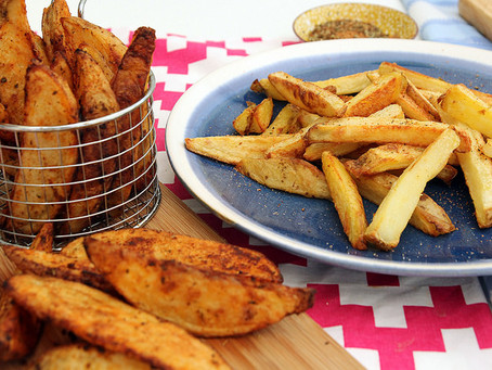 Perfect Chips/Wedges by The Greedy Fox