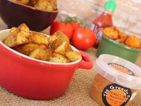 Moroccan Potatoes by The Greedy Fox