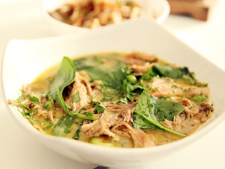 Goan Pulled Pork coconut Curry by The Greedy Fox