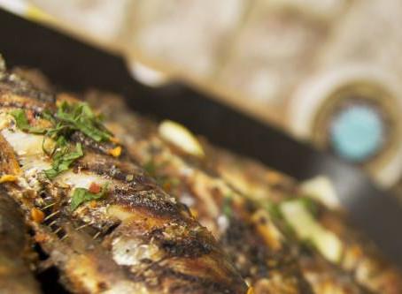 Mediterranean Griddled Sardines The Greedy Fox