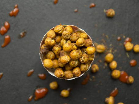 Roasted Chickpeas by The Greedy Fox