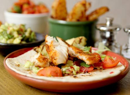 Fish Tacos by The Greedy Fox