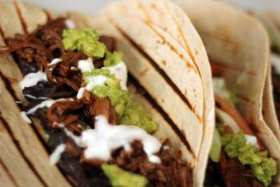 Slow Cooker Mexican Barbacoa Beef by The Greedy Fox