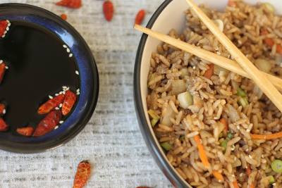 Chinese Fried Rice by The Greedy Fox