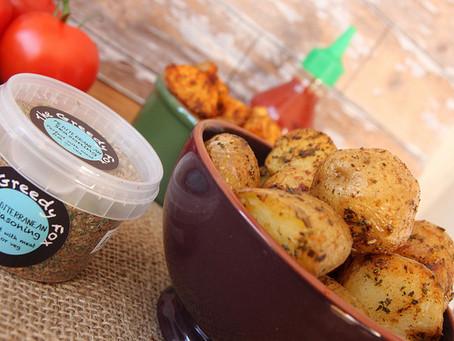 Mediterranean Potatoes by The Greedy Fox