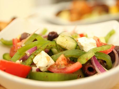 Greek Salad by The Greedy Fox