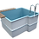 Thumbnail: Купель для бани Тенсберг 2,1х1,89х1,2