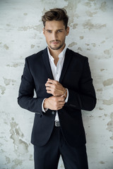 Semi-formal groom
