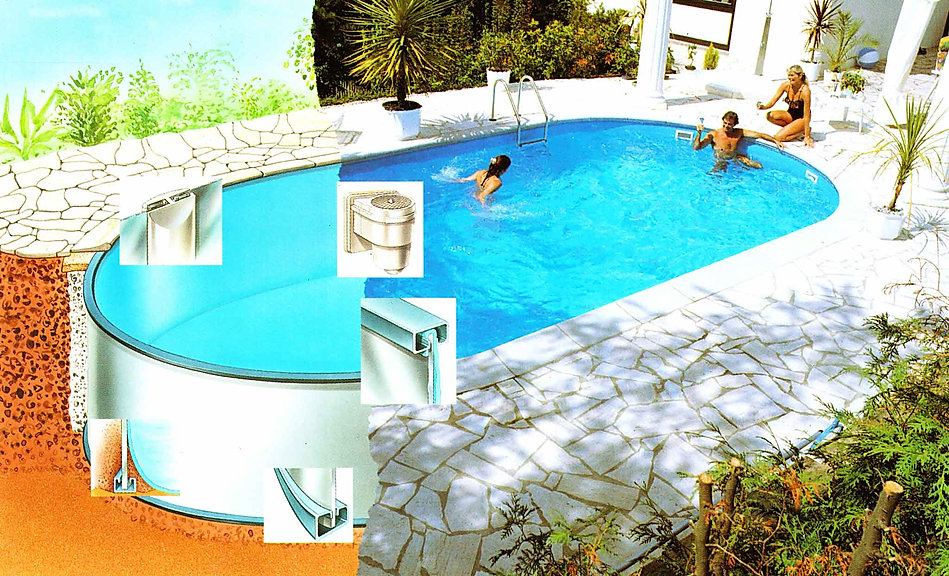 Сборный бассейн для дачи в Самаре