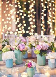 Spring farm wedding decor