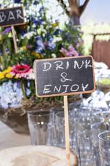Farm style wedding venue