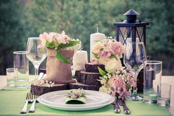 Vintage garden weddings