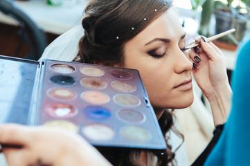 Farm Wedding makeup