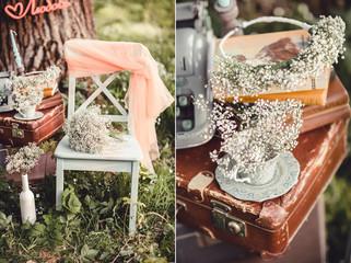 Shabby chic farm wedding