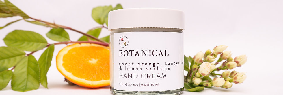 Sweet Orange, Tangerine + Lemon Verbena HAND CREAM 60ml