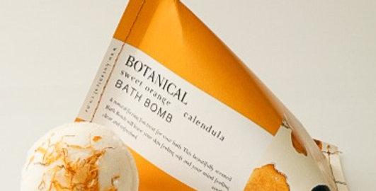 ORANGE BLOSSOM & CALENDULA BATH BOMB