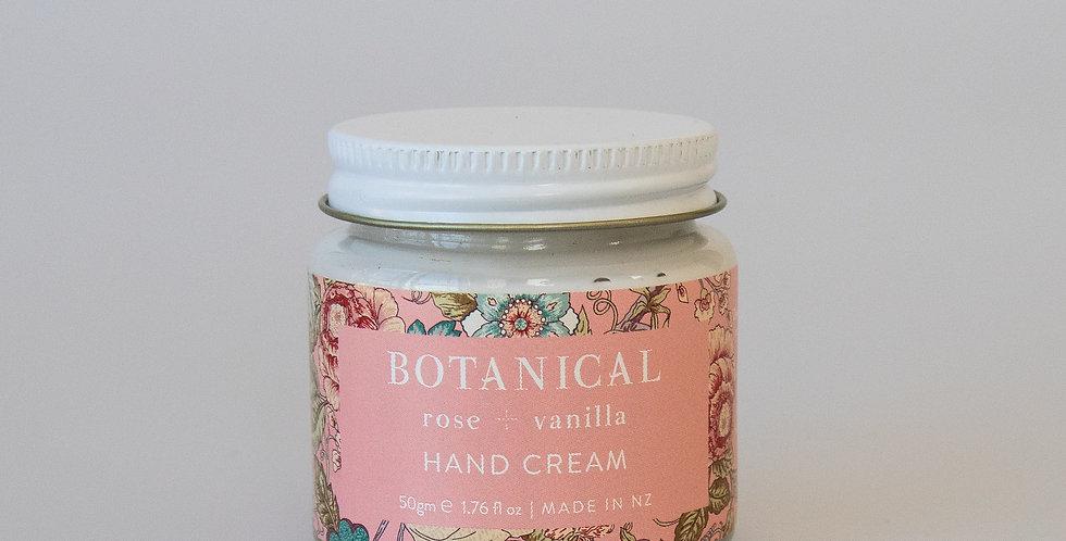 Rose + Vanilla HAND CREAM 60ml