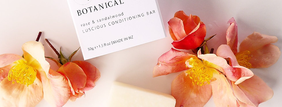 SOLID CONDITIONING BAR - Rose & Sandalwood 50GM