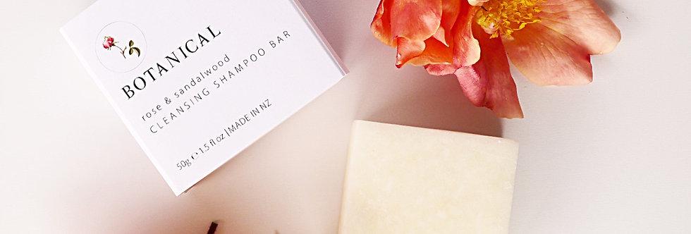 SOLID SHAMPOO BAR - Rose & Sandalwood 50GM