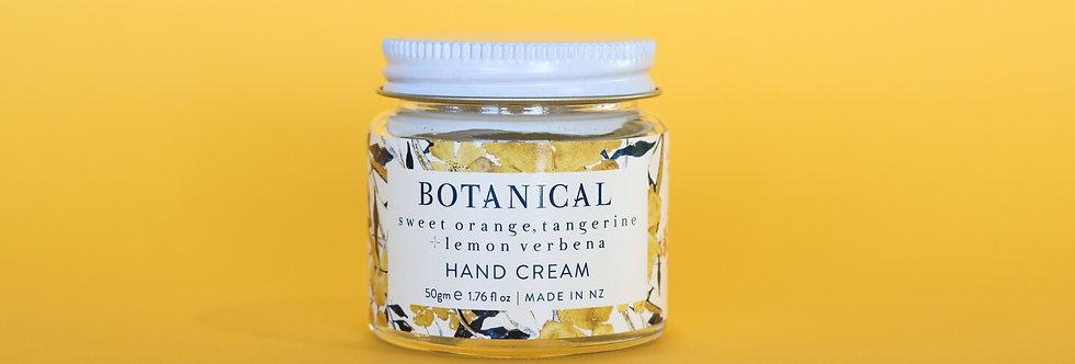 Sweet Orange, Tangerine + Lemon Verbena HAND CREAM 60ml